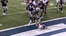 Ahmad Bradshaw's nearly-downed Touchdown in Super Bowl XLVI