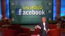 The Ellen Show: In Your Facebook by Ellen Degeneres