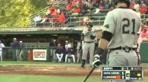 Coastal Carolina Designated Hitter Alex Buccilli&#8217;s Crazy Batting Stance