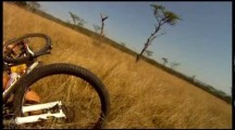 Mountain Biker gets attacked by African Gazelle