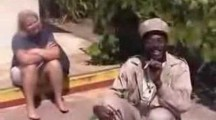 Jamaican Tour Guide Smokes Weed on Bob Marley's Rock