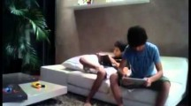 Boy Slaps His Brother with an iPad