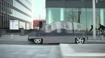 Mercedes promotes new Fuel Cell vehicle with Invisible Benz
