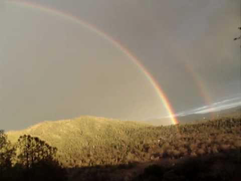 OMG it's a Double Rainbow! Yosemitebear Mountain